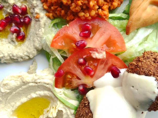 Restaurant Iskandar Assiette Falafel