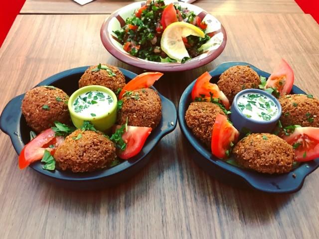 Restaurant Iskandar Falafel avec Tabouleh