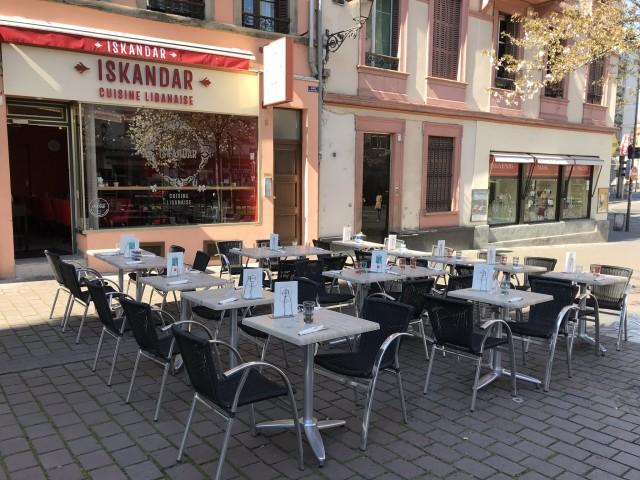 Restaurant Iskandar Terrasse 2019